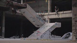 DEATH DEFYING BMX IN A ABANDONED MALL!